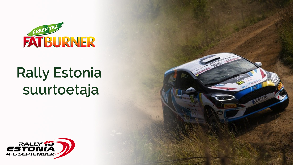 Fat Burner WRC Rally Estonia suursponsor